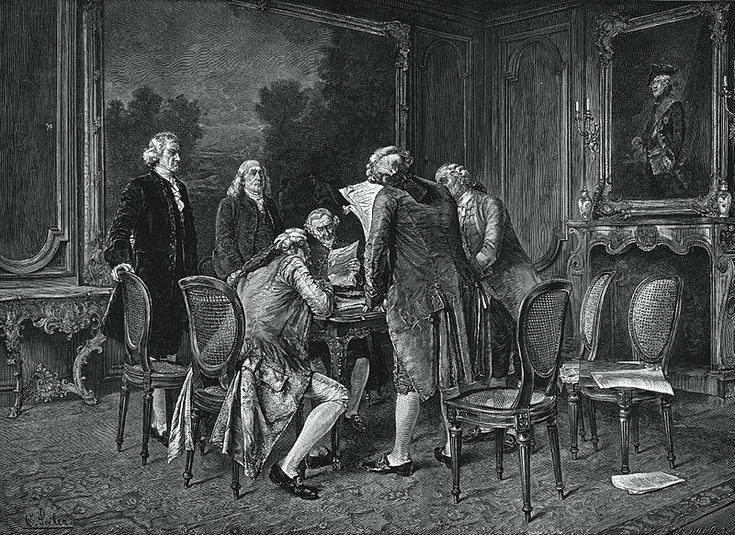 The Treaty of Paris of 1783, negotiated between the United States and Great Britain, ended the revolutionary war and recognized American independence. The Continental Congress named a five-member commission to negotiate a treaty. The commission consisted of John Adams, Benjamin Franklin, John Jay, Thomas Jefferson, and Henry Laurens. It was signed on September 3, 1783, and ratified early in the year to come.