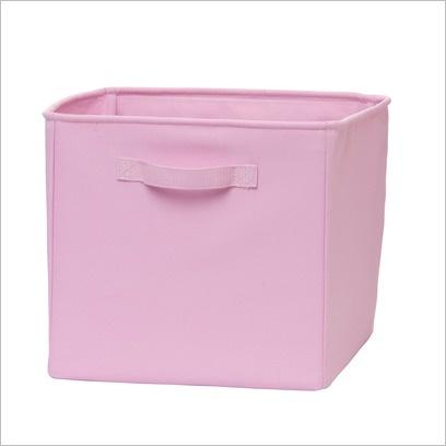 Cooper 2PK Canvas Cube Pink