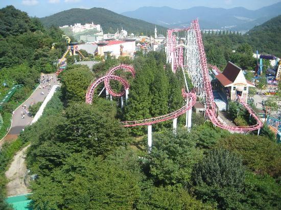 amusement park in Korea