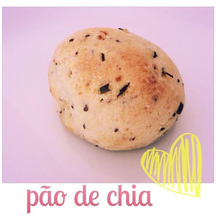 Cozinho, logo existo.: Como fazer: Pão de chia (sem glúten, sem lactose, sem ovo e MUITO delícia)