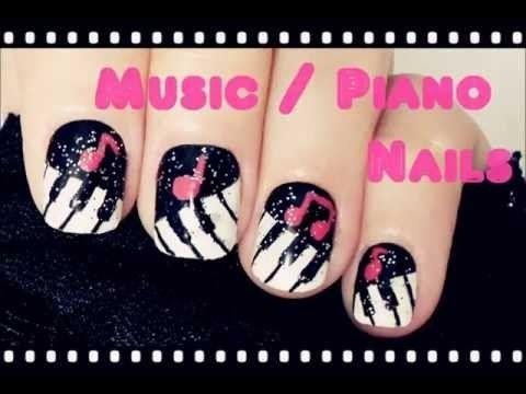Music / Piano Nails