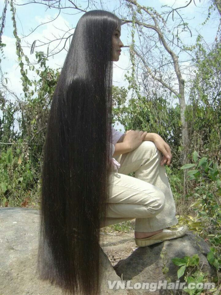 1049 Best Floor Length Hair Images On Pinterest