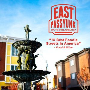 """Food & Wine Magazine names East Passyunk Avenue of the """"10 Best Foodie Streets in America."""" (Photo by J. Fusco for GPTMC)"""