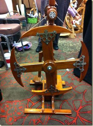 Made by a spinner's husband. Good man; better keep him around!