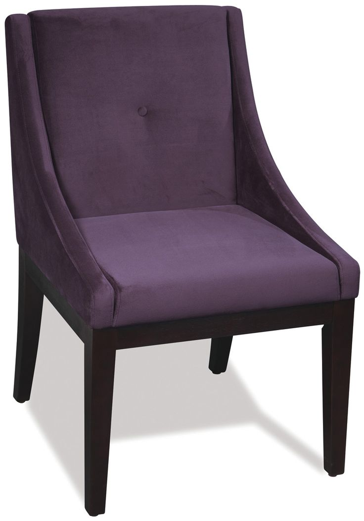 Purple velvet dining chairs purple velvet dining chair for Dining room velvet chairs