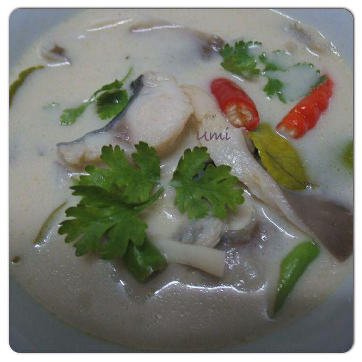 Thai Fish Soup in Coconut Milk