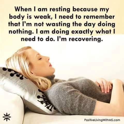 When you really need it, it's good to just rest and not feel bad about it. We all have days like this #takeabreak #muchneededrest
