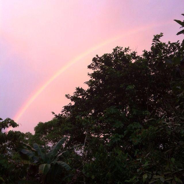 Arco iris en Condoto (Chocó)