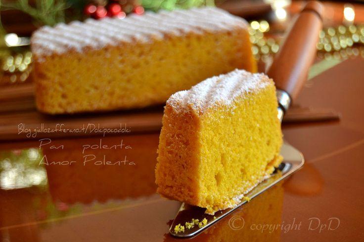 Panpolenta o Amorpolenta dolce di mais morbidissimo e delicato !!! Se non lo avete mai provato... questa è una ricetta davvero speciale !  QUI la Ricetta ..http://blog.giallozafferano.it/dolcipocodolci/pan-polenta-amor-polenta-pasticceria/