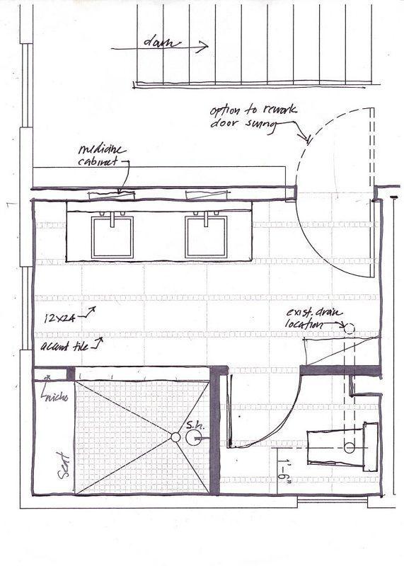 Image Result For Master Bathroom Floor Plans With Walk In Shower No Tub Masterbathr Master Bathroom Design Layout Master Bathroom Plans Bathroom Design Layout