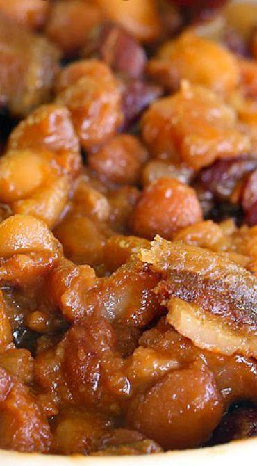 Best Ever Boston Baked Beans
