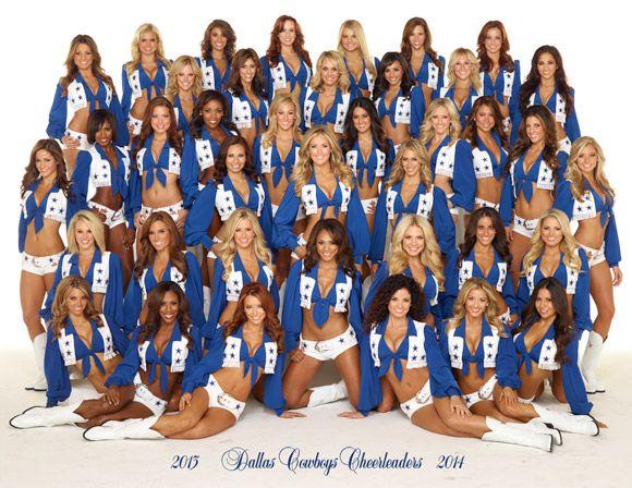 "Dallas Cowboys Cheerleaders ""often imitated but never equaled"" 2013 Squad — Dallas Cowboys Cheerleaders"