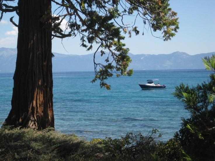 Lake Tahoe, hope I get back there!