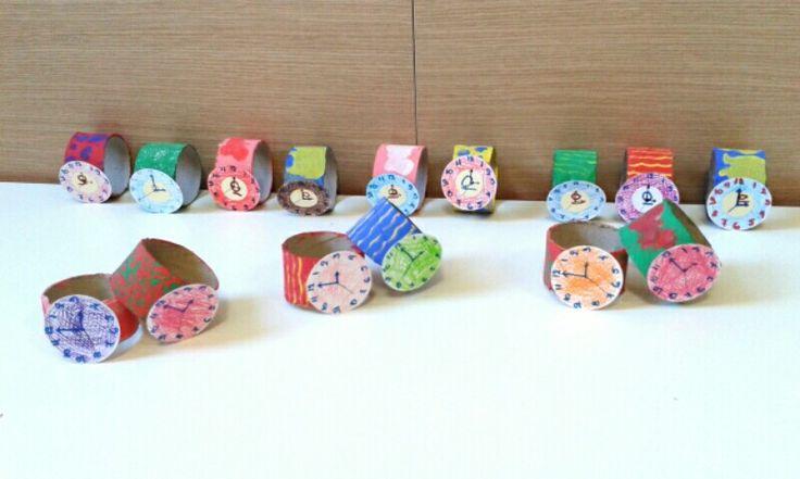 Ρολόι από ρολό χαρτί υγείας!