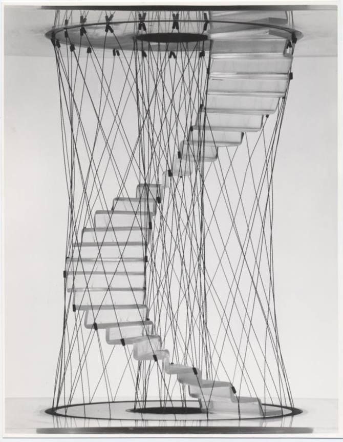 Pio Manzù 1939-1969 ...design studies of stairs. 1968 http://it.wikipedia.org/wiki/Pio_Manzù