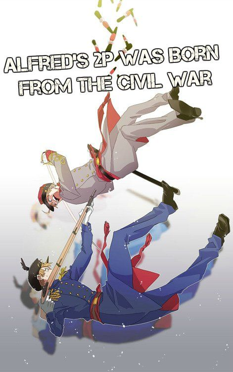 This head cannon has a pretty good idea of how 2p America came to be! <-- Then would 2p Japan came from the creation of the creepypasta Hetalia: Episode 23.5?