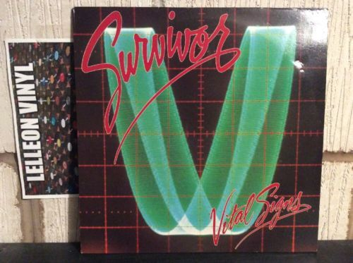 Survivor Vital Signs LP Album Vinyl Record 26126 Rock 80's Music:Records:Albums/ LPs:Rock:Progressive
