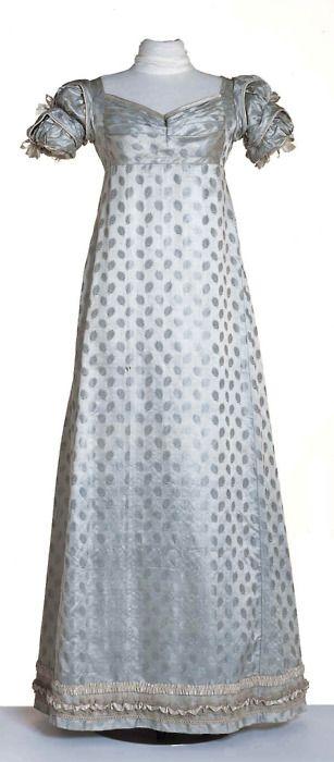 Evening dress, 1820-23