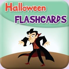 "Free flashcards to go along with the super fun song, ""Go Away!""  Great for Halloween classes/parties for young learners. Great for toddlers,..."