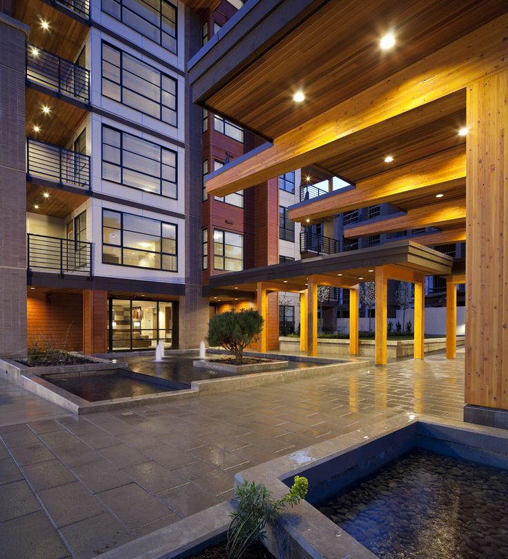 6-storey wood-frame apartment building at UBC, Vancouver by Adera