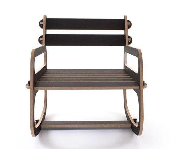 Rocking Chair Easy Chair Piks Design Modern