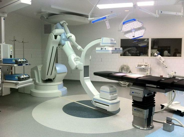 Hybrid Operating Room At Massachusetts General With