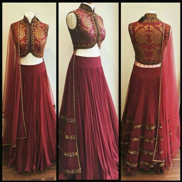 Best ideas about simple lehenga on pinterest indian