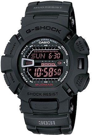 Casio G-Shock Mudman Black Military Watch G9000MS-1