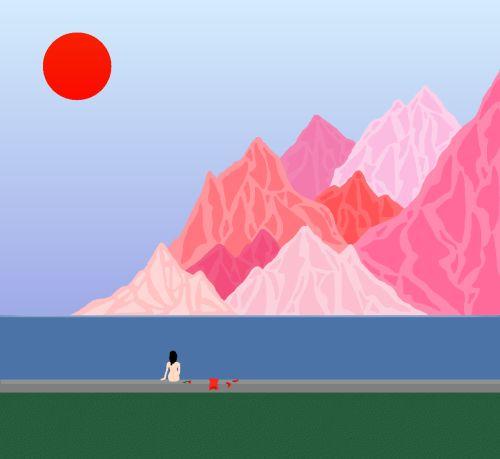 Esta artista crea sus pinturas en Microsoft Paint   The Creators Project