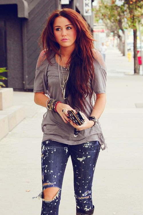Miley Cyrus' Style <3