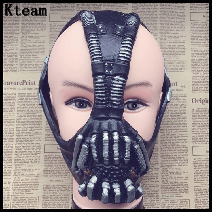 >> Click to Buy << Top Quality Cos Bane Mask Cos Batman Dark Knight Mask Halloween Horror Mask costume ball bane Helmet Latex Mask Life Size 1:1 #Affiliate