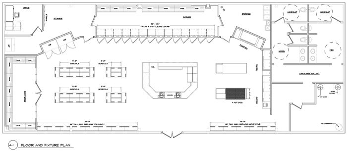 Afc Floor Plan >> best convenience store architecture - Google Search | Gas Station Project | Pinterest ...