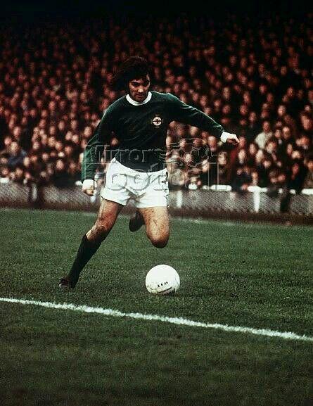 George Best of Northern Ireland in 1969.