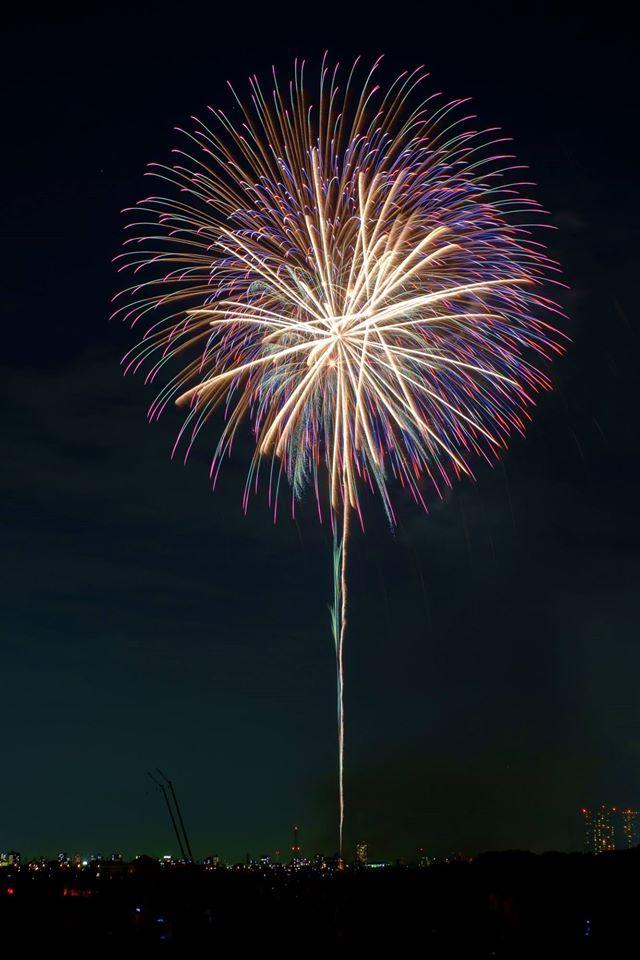 第39回 江戸川区花火大会(The 39th Edogawa-ku fireworks display)-009