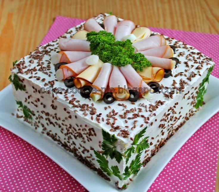 Συνταγές για μικρά και για.....μεγάλα παιδιά: Η πιο εύκολη αλμυρή τούρτα με ψωμί του τόστ!