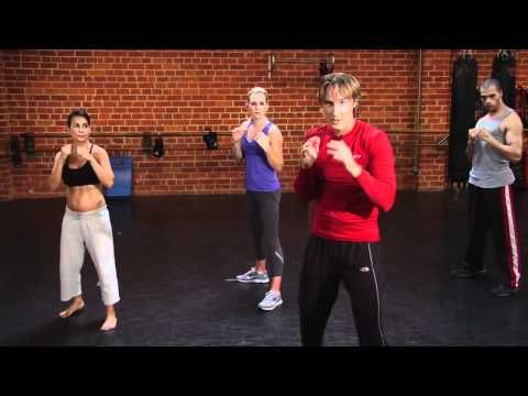 How to knock out body fat with cardio kick boxing workout.... Great for beginners!
