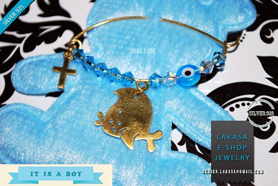 Nemo Fish Baby Brooch Sterling Silver Gold Swarovski Crystals #baby #boy #happy #fish #brooch #silver #jewelry #swarovski #crystals #motherday #personalised #nemo #jewellery #δωρο #καρφιτσα #παραμανα #αγορι