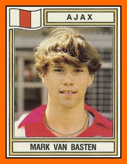 Van Basten Ajax, Mark not Marco! Very, very Young.