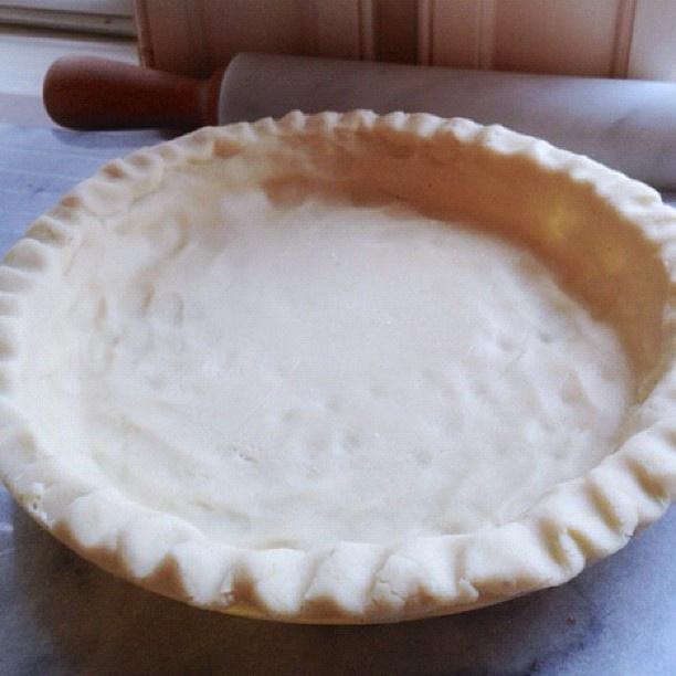 Easy pie crust {Gluten-Free, Vegan}