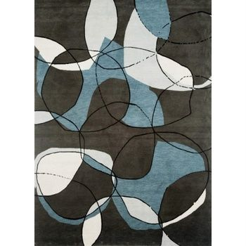 Pewter Rug - Prop Hire London