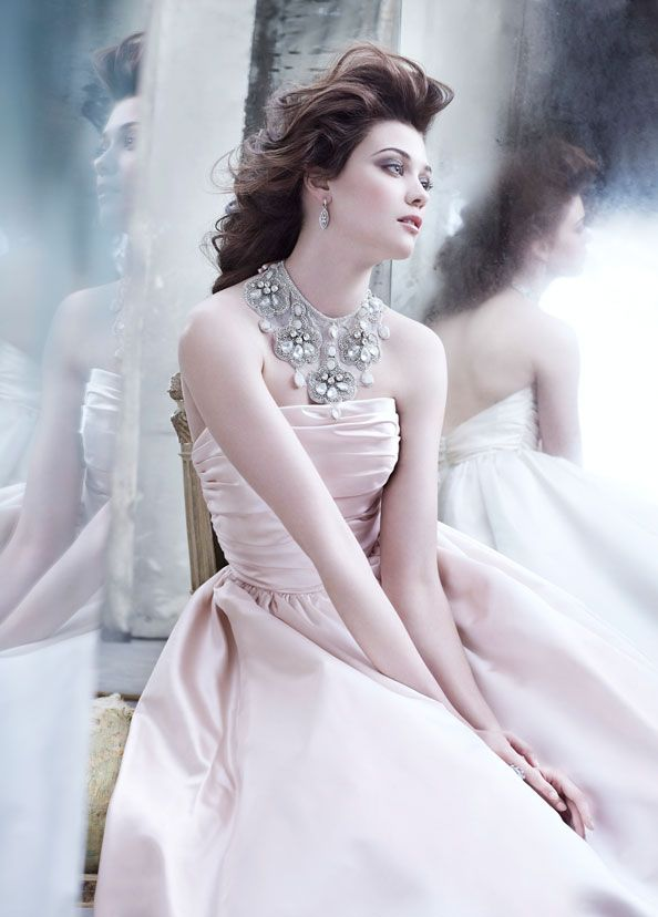 39 best Lazaro Bridal Gowns images on Pinterest | Wedding frocks ...