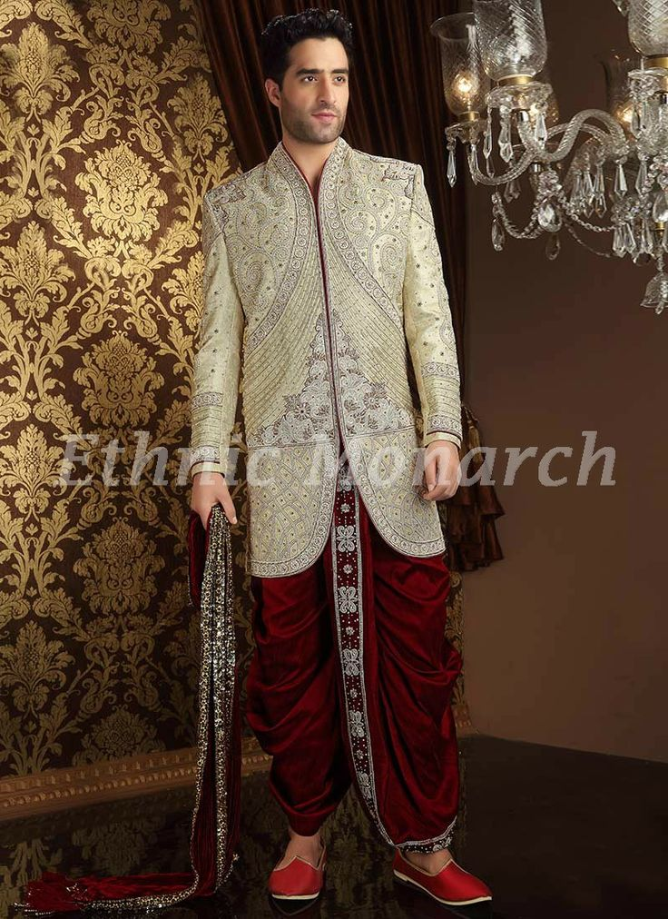 Ethnic Monarch Is The Best Online Store For Traditional Dresses And Mens Wedding Clothes We Specialized In Wear Like Breeches Jodhpuri Suits