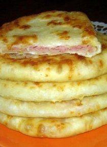 Бесподобные сырные лепешки на кефире