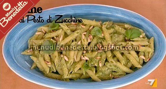 Penne al Pesto di Zucchine | la ricetta di Benedetta Parodi