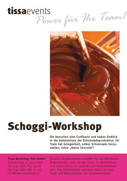 Schweizer Schokolade - Dein Team kanns machen!