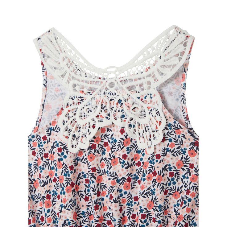 vertbaudet maedchen kleid makrameespitze hinten online kaufen