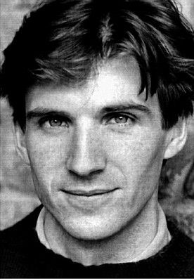 Ralph Fiennes... a very young Ralph Fiennes