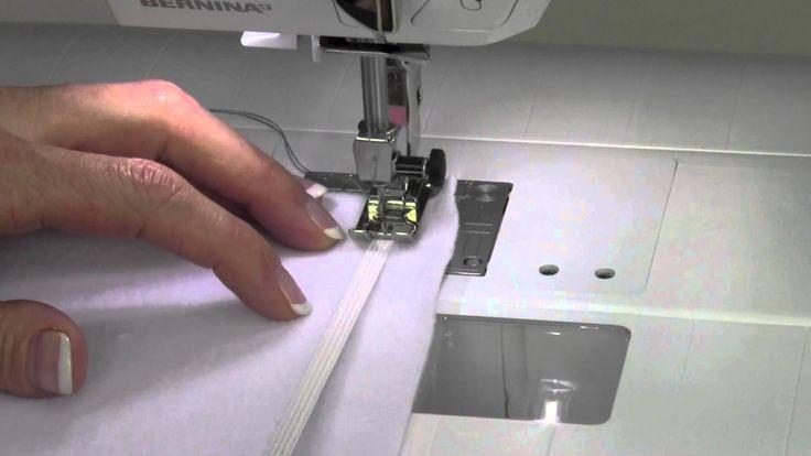 Bernina 330 09  Sewing Elastic