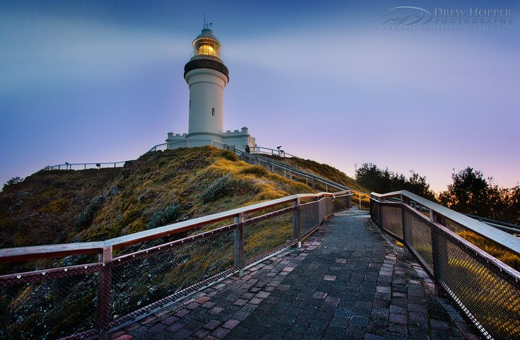 Byron Bay Lighthouse by *DrewHopper on deviantART