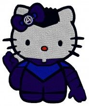 Fantastic Kitty embroidery design - Machine Embroidery Designs